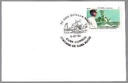 95 Años BATALLA DE SANTIAGO (1898) - Guerra Hispano-Americana - Spanish-American War. Santiago 1993 - Militares