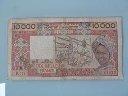 SENEGAL-10.000 FRANCS - Sénégal