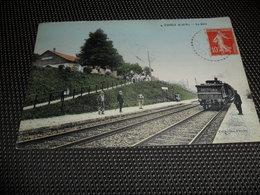 France   Everly   La Gare  Station  Train - Autres Communes