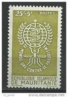 """Mauritanie YT 155 """" Paludisme """" 1962 Neuf** - Mauritanie (1960-...)"""