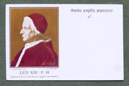 Cartolina Commemorativa - Anno Santo 1900 - Papa - Leo XIII - Non Classificati