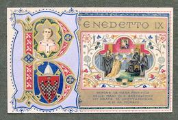 Cartolina Commemorativa - Benedetto IX Depone La Tiara Pontificia - 1905 - Non Classificati