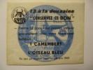 T043 / Publicité SAFR 1962 L'OISEAU BLEU DE MONCHELET SOMME 80 - Factures