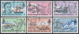 BRITISH ANTARCTIC TERRITORY  Michel  78/83 Very Fine Used - Territoire Antarctique Britannique  (BAT)