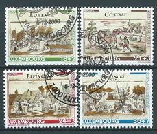 Luxemburg Michel Nr: 1518 - 1521 Gestempeld / Oblitérés - Gebruikt