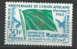 "Mauritanie YT 159 "" Anniversaire Union "" 1962 Neuf** - Mauritanie (1960-...)"