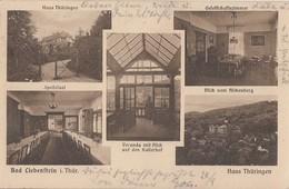 AK Bad Liebenstein Haus Thüringen S/w Gelaufen 24.9.23 - Bad Liebenstein