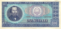 BILLET ROUMANIE 100  UNA SUTA LEY - Roumanie