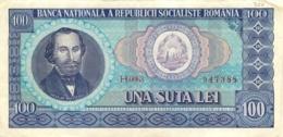 BILLET ROUMANIE 100  UNA SUTA LEY - Romania