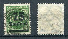 D. Reich Michel-Nr. 288II Gestempelt - Geprüft - Gebraucht