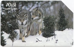 POLAND C-151 Prepaid Magnetic Telekom - Animal, Wolf - Used - Polen