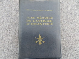 Aide Mémoire De L'Officier D'infanterie - 155/06 - Books, Magazines, Comics