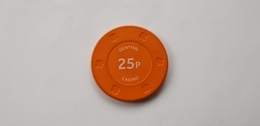 Genting Casinos UK 25p Casino Chip Jeton - Casino