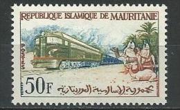 """Mauritanie YT 161 """" Train Minier """" 1962 Neuf** - Mauritanie (1960-...)"""