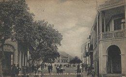 Cape Verde. Rua De Lisboa And Govenor`s Palace.    S-2703 - Cape Verde