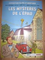 Affiche VAN DONGEN  BERSERIK Exposition Blake Et Mortimer Abbaye De L'Epau 2018 (La Vallée Des Immortels - Affiches & Offsets
