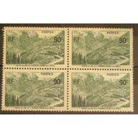 FRANCE Bloc   De 4 Du N° 358 N** Cote 17.20€ - Unused Stamps