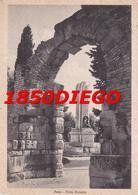 FANO - PORTA ROMANA  F/GRANDE  VIAGGIATA 1957 ANIMAZIONE - Fano