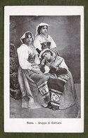 Cartolina Costumi Lazio - Roma - Gruppo Di Ciociare - 1900 Ca. - Cartoline