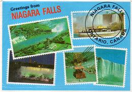 CANADA - Niagara Falls - ONTARIO - Timbres Reproduits (110453) - Timbres (représentations)