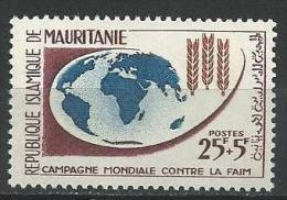 "Mauritanie YT 164 "" Contre La Faim "" 1963 Neuf** - Mauritanie (1960-...)"