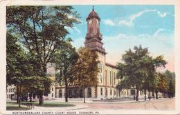 Alte  AK   SUNBURY / Pennsylvania / USA   - Northumberland County Court House -  Gelaufen 1923 - Other