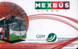 Mexico Transport Cards, (1pcs) - Mexico