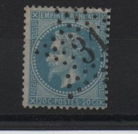 Etoile 31 Sur Yvert  29 - Marcophilie (Timbres Détachés)