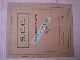 Accessoires Auto Catalogue Phares, Dynamos, Generateur, Indicateurs De Vitesse Etc 1924 - Voitures
