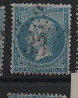 Etoile 33 Sur Yvert  22 - Marcophilie (Timbres Détachés)