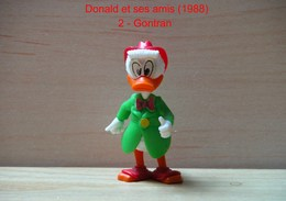 """Kinder 1988 : Gontran Habits Vert """"Donald & Ses Amis"""" - Dessins Animés"""