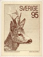 SVERIGE (SUEDE) Timbre  Reproduit - Astrid Bergman Suckdorff - Arne Wallhorn  (110461) - Timbres (représentations)