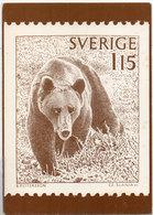 SVERIGE (SUEDE) Timbre  Reproduit - B. Pettersson - C.Z. Slania - Ours   (110462) - Timbres (représentations)