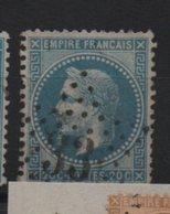 Etoile 33 Sur Yvert  29 - Marcophilie (Timbres Détachés)