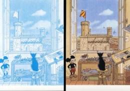 JUILLARD : 2 Cartes Postales SALON UZES - Juillard