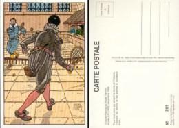 JUILLARD : Carte Postale COURTE PAUME (numerotée) - Juillard