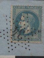 Etoile 34 Sur Yvert  29 - Marcophilie (Timbres Détachés)