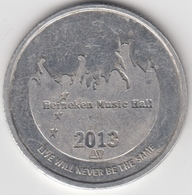 Heineken Music Hall Munt Jaar 2013      (4764) - Jetons De Caddies