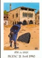 JUILLARD : Carte Postale SALON FIGEAC 1990 - Juillard