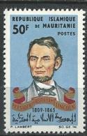 "Mauritanie YT 192 "" A. Lincoln "" 1965 Neuf** - Mauritanie (1960-...)"