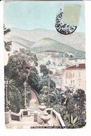 Principauté De MONACO, MONTE CARLO, Escalier Allant De La Gare Aux Jardins, Ed. Aqua-Photo L.V. & Cie 1907 - Monte-Carlo