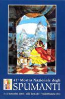 [MD2406] CPM - VALDOBBIADENE - 41° MOSTRA NAZIONALE DEGLI SPUMANTI - VILLA DEI CEDRI - Non Viaggiata - Treviso