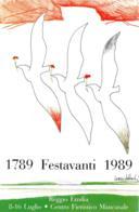 [MD2427] CPM - REGGIO EMILIA - 1789 FESTAVANTI 1989 - GRAFICA NANI TEDESCHI - Non Viaggiata - Reggio Emilia