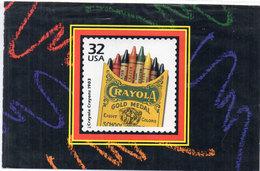 U.S/.A - Crayola (Timbre Reproduit)  (110466) - Timbres (représentations)