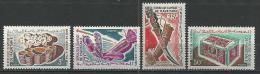 """Mauritanie YT 197 à 200 """" Artisanat """" 1965 Neuf** - Mauritanie (1960-...)"""