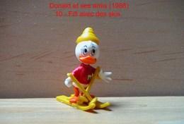 """Kinder 1988 : Fifi Avec Des Skis Et Habits Rouge """"Donald & Ses Amis"""" - Dessins Animés"""