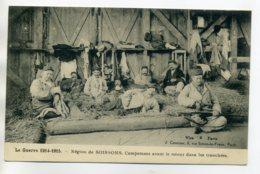 02 SOISSONS Région Campement Militaires Avant Retour Dans Tranchées La Guerre 1914-15  /D06-2017 - Soissons
