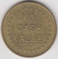 No Cash Value    (4767) - Jetons De Caddies