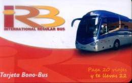 Spain Transport Cards, (1pcs) - Spain