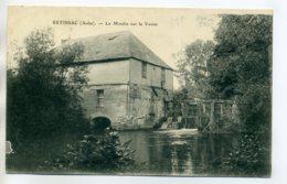 10 ESTISSAC Le Moulin Sur La Vanne Ecluse  écrite Longuement 14 Juillet 1915    /D06-2017 - Francia